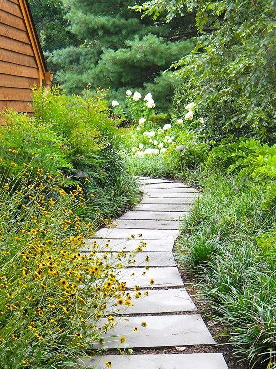 Gartenweg Anlegen 109 Gestaltungsideen Mit Spannungsvollen Effekten Landschaftsdesign Moderne Landschaftsgestaltung Gartenweg