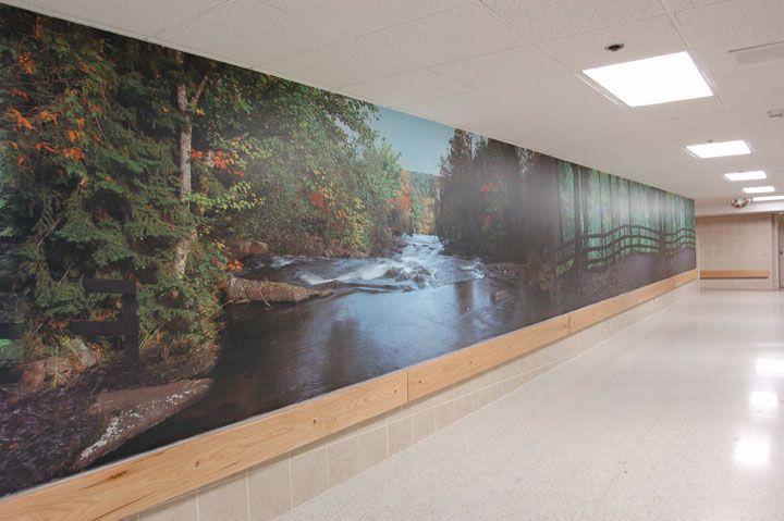 Mural Wall hospital wall mural: 89' x 6' | aaaamazing art | pinterest | wall
