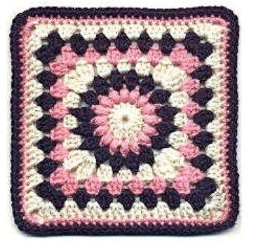 best beginner granny squares | cuadriitos de la abuela | Pinterest ...