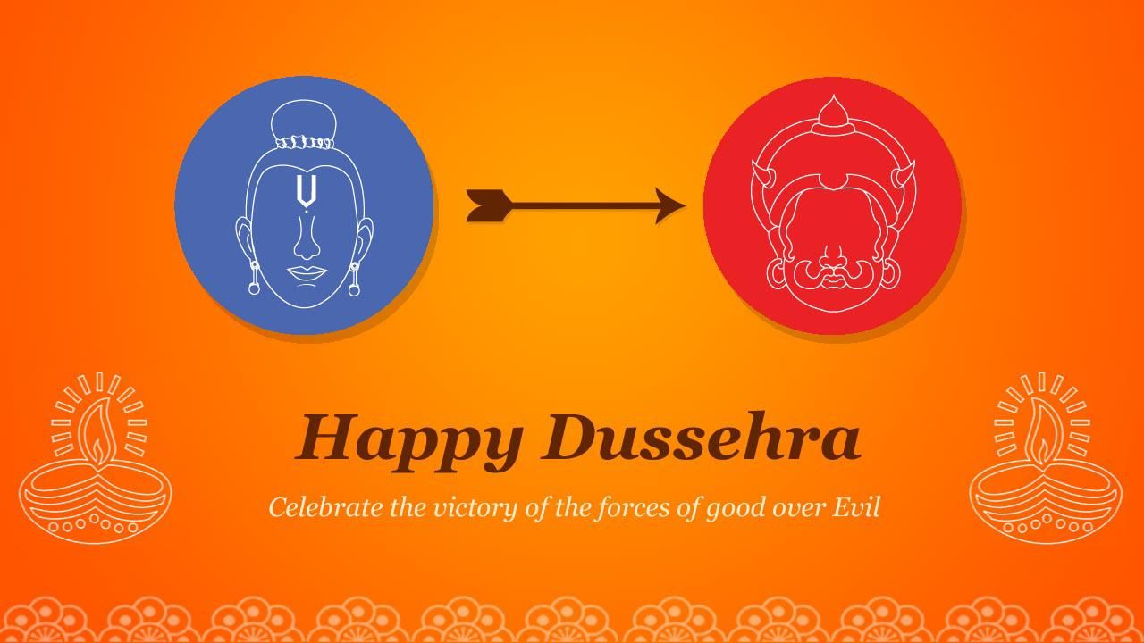 Dussehra 2018 Cards Messages For Friends Share On Facebook Whatsapp