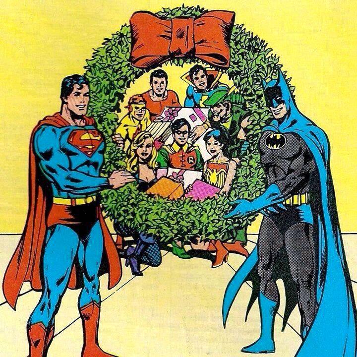 Batman Christmas.Superman Batman Christmas Christmas Noise Comics