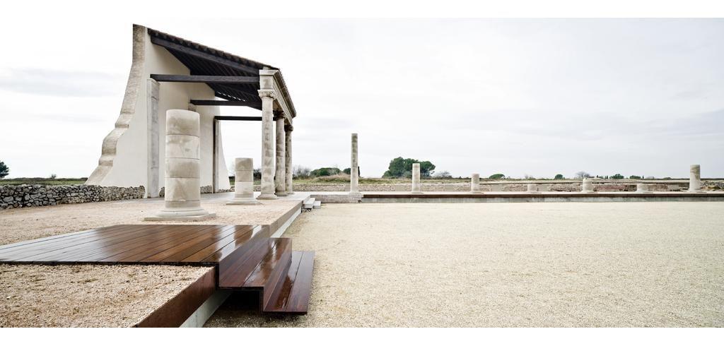 restauración,consolidación y adecuación del fórum romano de empúries_ girona 2009 | lola domènech arquitecta