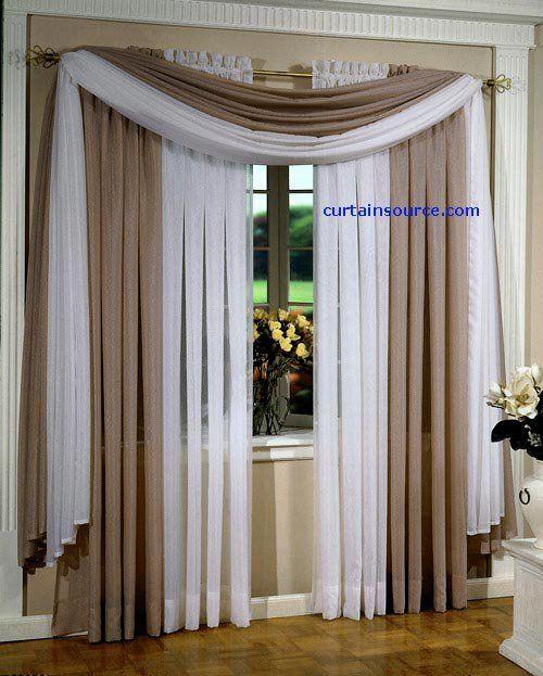 افكار جديدة للستائر مجموعة ستائر جديدة بافكار روعة 2013 Living Room Decor Curtains Curtains Living Room Curtains
