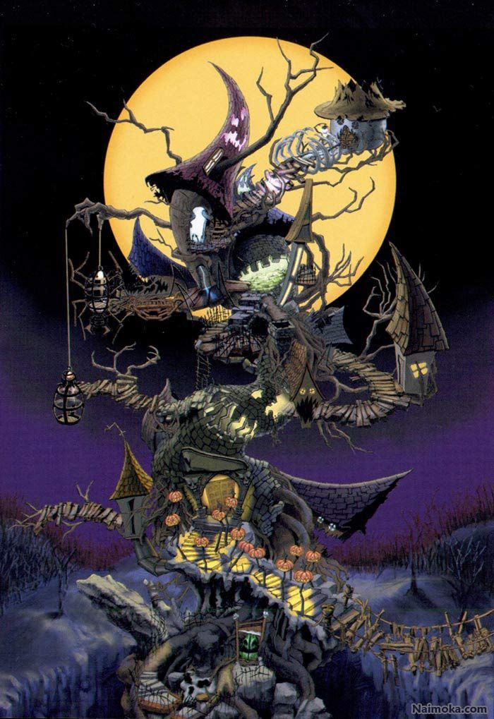 Kingdom Hearts: Halloween Town World | Random | Pinterest ...