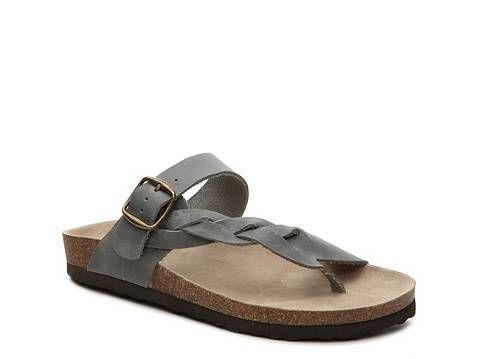 White Mountain Crawford Flat Sandal Sandals White