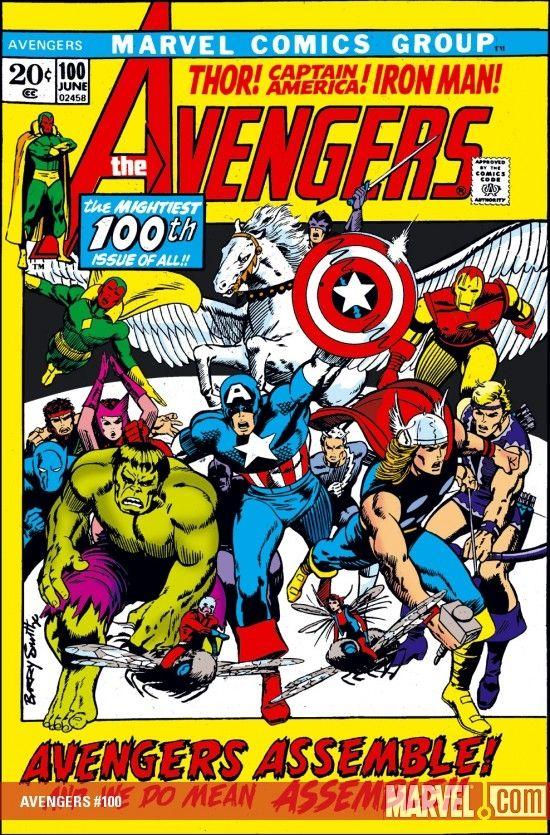 Avengers Assemble For 100