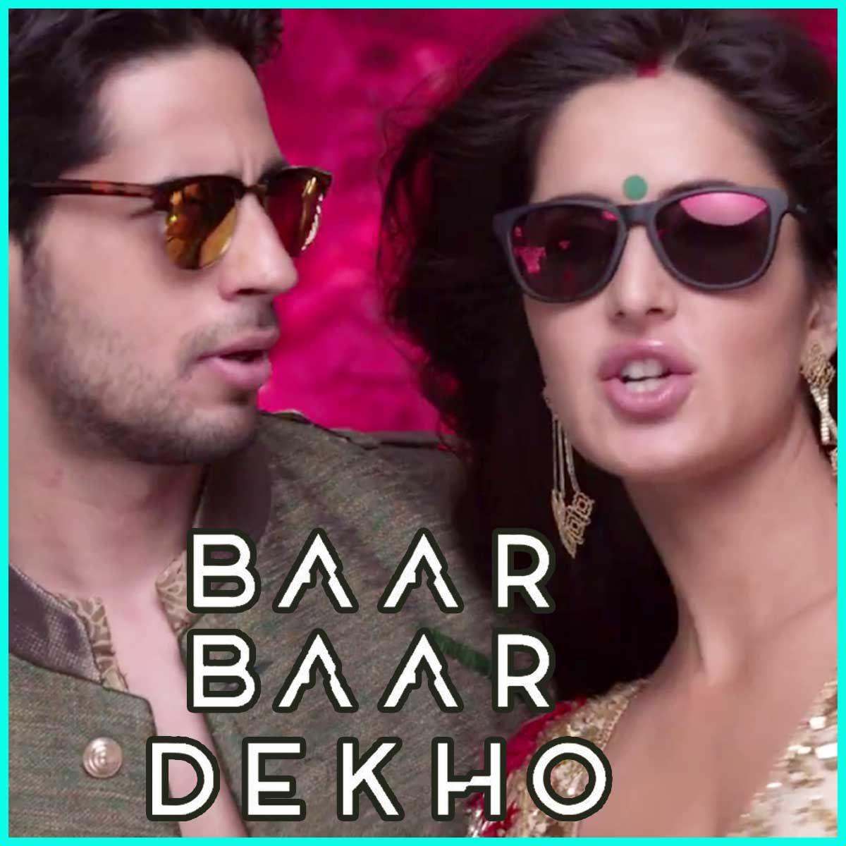 Kaala Chashma Baar Baar Dekho Mp3 And Video Karaoke Format With Images Karaoke Bollywood Music Baar Baar Dekho