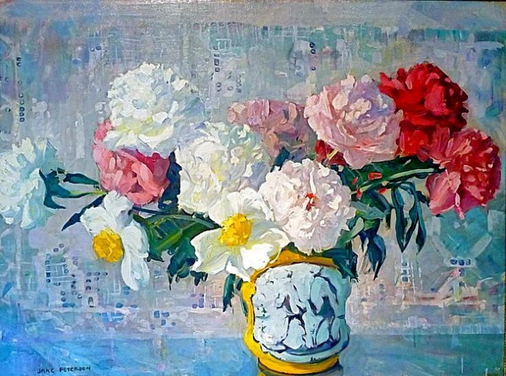 American Impressionism Jane Peterson | Jane Peterson (American Impressionist 1876-1965)