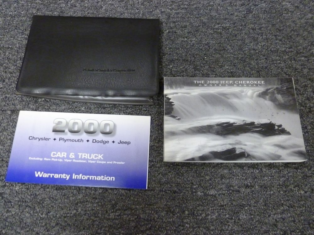 2000 jeep cherokee owners manual