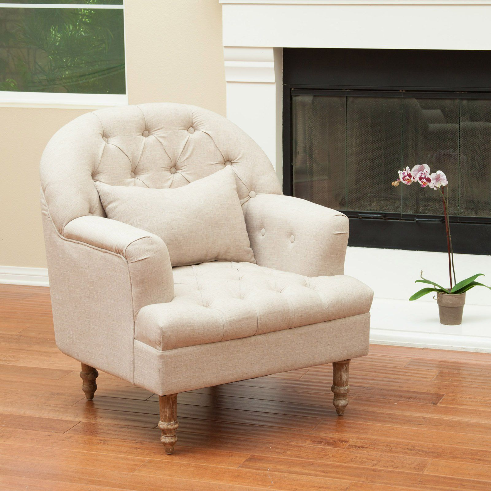 Best Selling Home Decor Furniture Bryce Tufted Chair - Sand - The ...