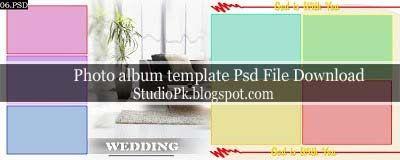 Wedding Album Design Templates Psd Free Download | Album design ...