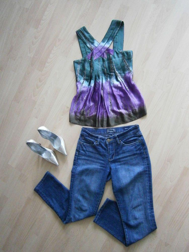 Seven 7 Jeans Blue Denim Women's Size 27 RN#109890 | Denim, Denim ...