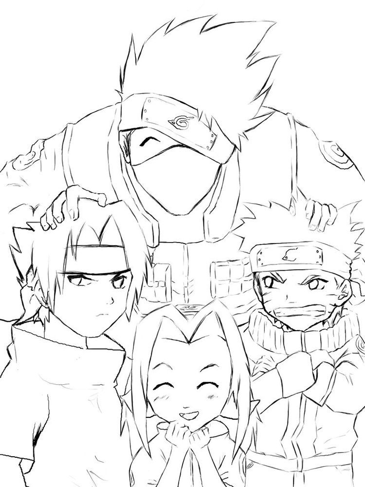 Naruto Rasengan Coloring Pages Below Is A Collection Of Naruto Coloring Page Which You Can Download For Fr In 2020 Coloring Pages Naruto Team 7 Cartoon Coloring Pages