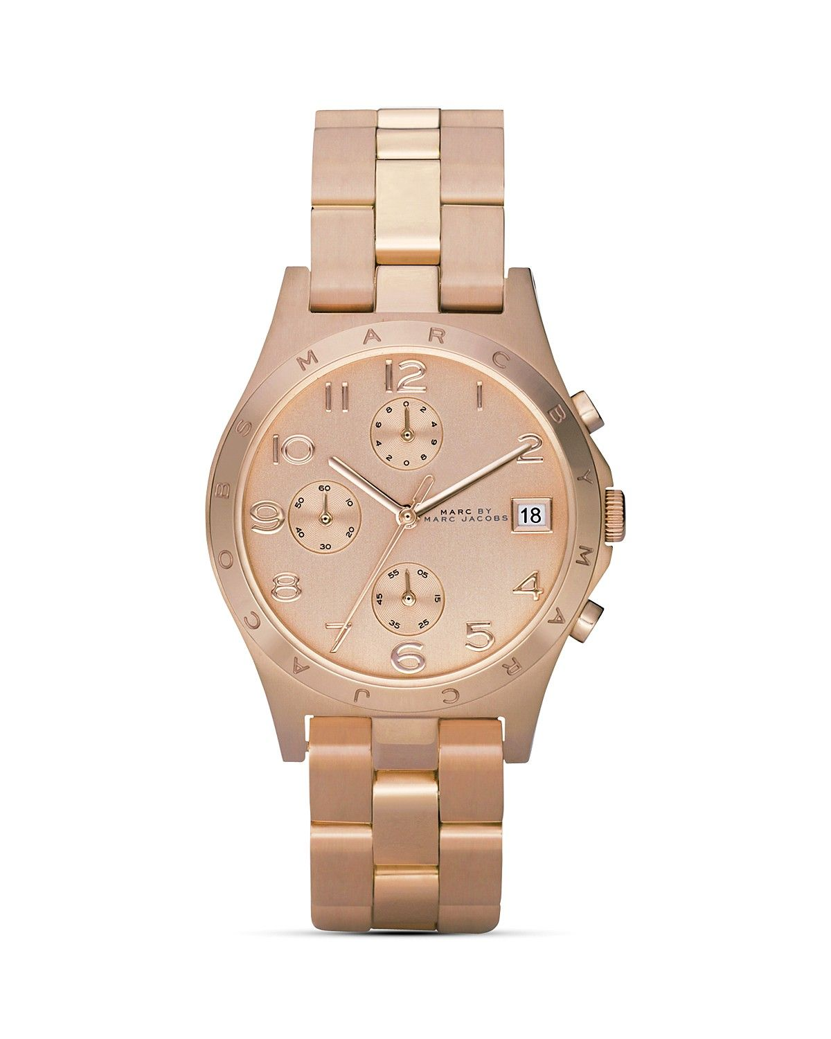 ad2cecdea19 MARC BY MARC JACOBS Henry Rose Gold Watch