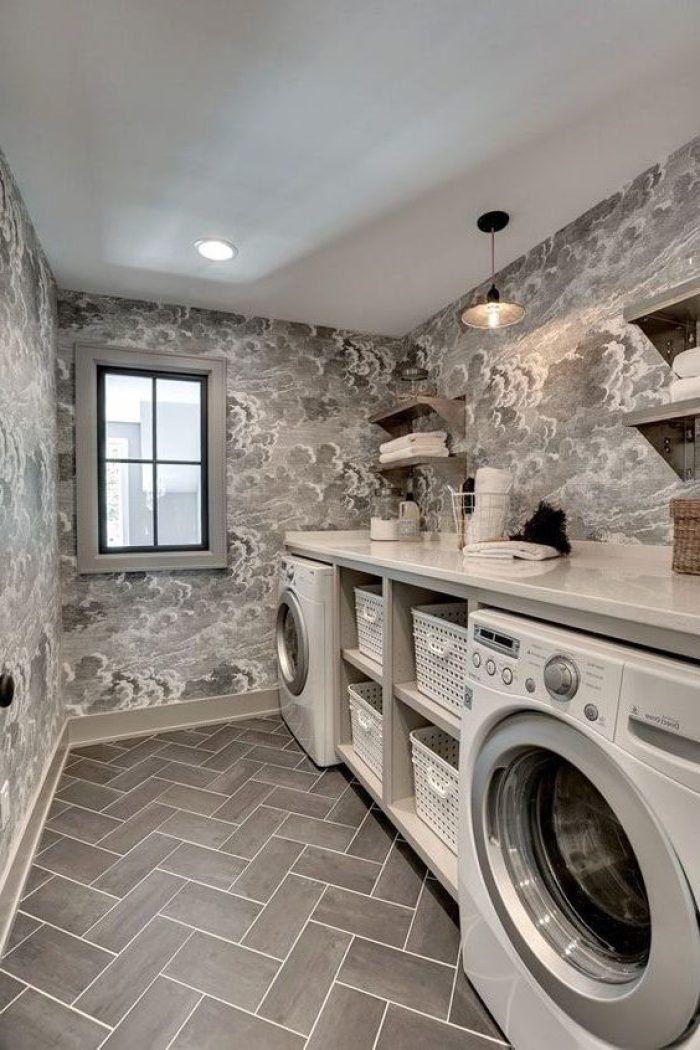 22 Amazing Basement Laundry Room Ideas That\'ll Make You Love