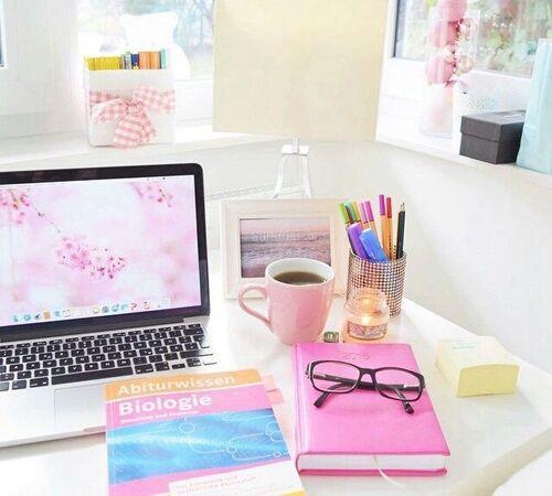 Картинка с тегом «study, pink, and room» | Мотивация к учебе