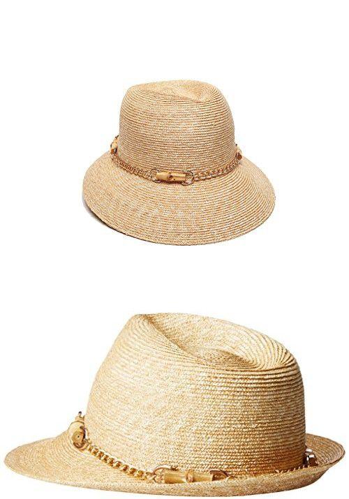 0947b1b9698fa Gottex Women s Vivienne Fine Milan Straw Packable Sun Hat