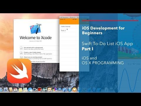 ▷ iOS and Swift Beginner Tutorial: Simple To-Do-List App | iOS