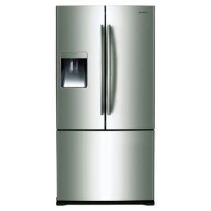 Samsung 2 Door Fridge 527l Srf527dsls Fridge French Door French Door Refrigerator French Doors