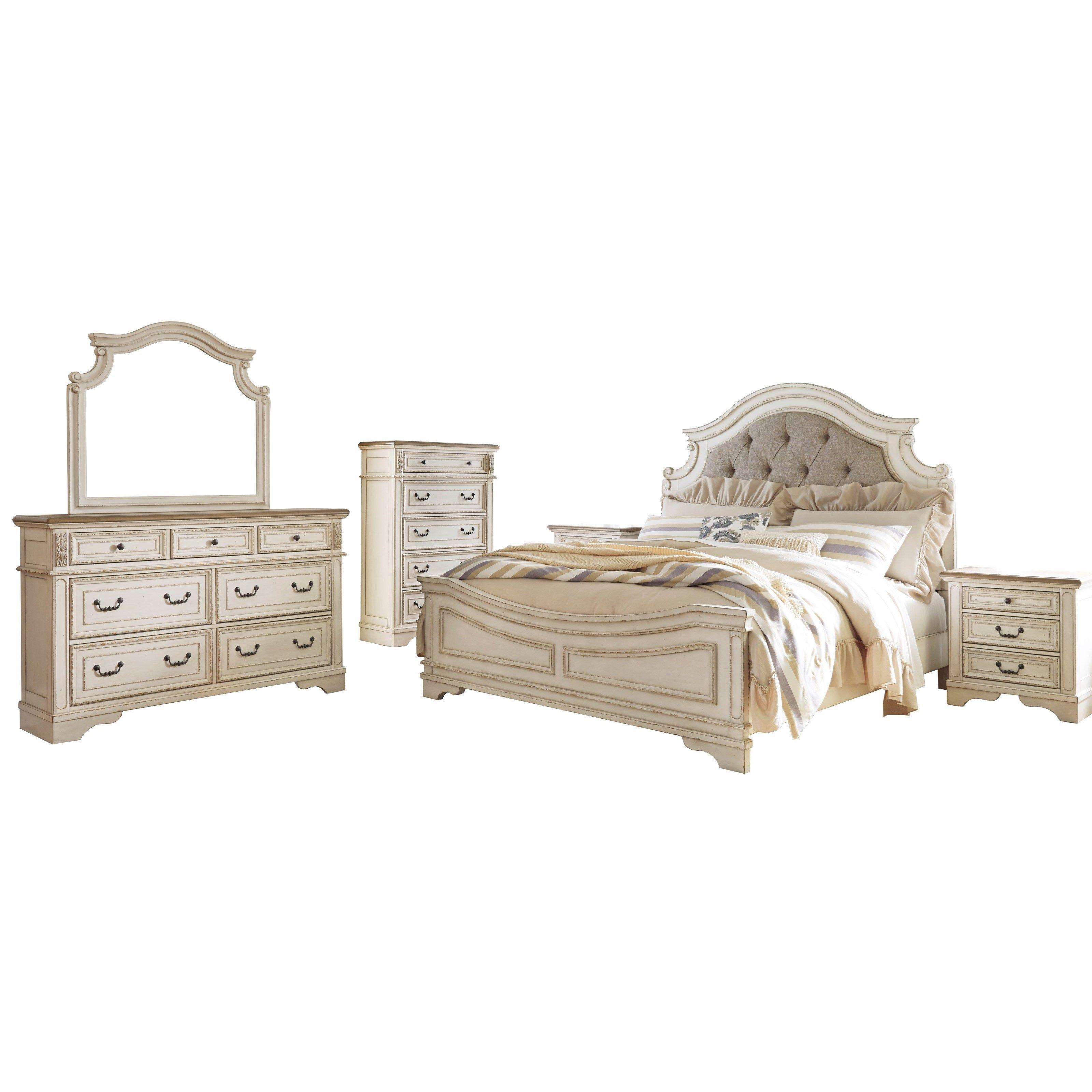 Realyn Queen Bedroom Group By Signature Design By Ashley Bedroom Sets Queen King Bedroom Sets Master Bedroom Furniture