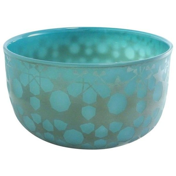 Decorative Blown Glass Bowls Ocean Green Blown Glass Bowlsabine Lintzen 23410 Brl