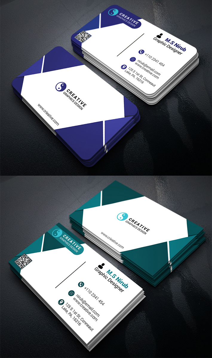 New Print Ready Business Card Template Free Download Business Card Free Business Card Templates Download Business Card Graphic Design Business Card