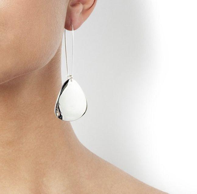 efva attling rose petal earrings
