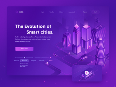 Smart Cities Concept 1 Smart City Isometric Design Web Design Trends