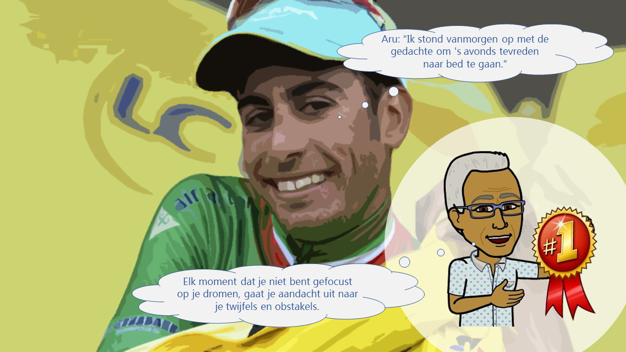 Tour de France Etappe 13 Tevredenheid, Gedachten