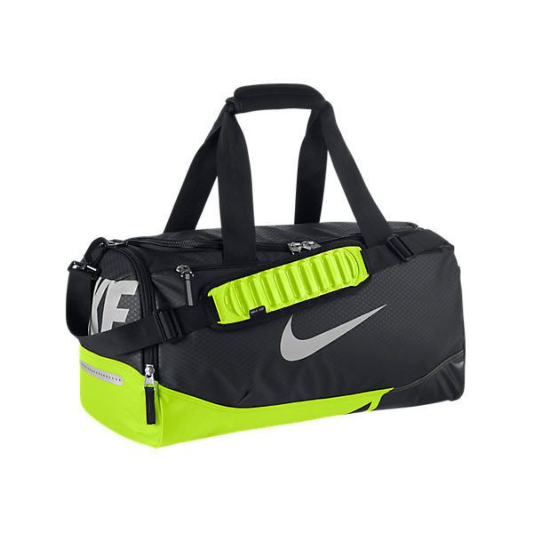 6bd9a9a504 Nike Vapor Max Air Small Duffel Bag ( 40) ❤ liked on Polyvore featuring  bags