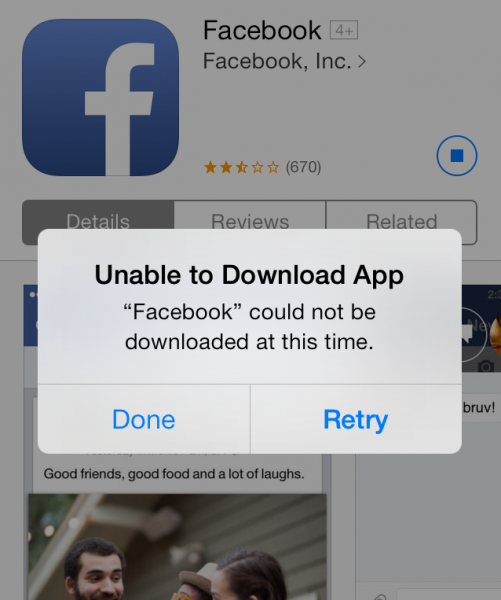 Facebook Updates iOS App To V6.7.1, Leads To Crashes And
