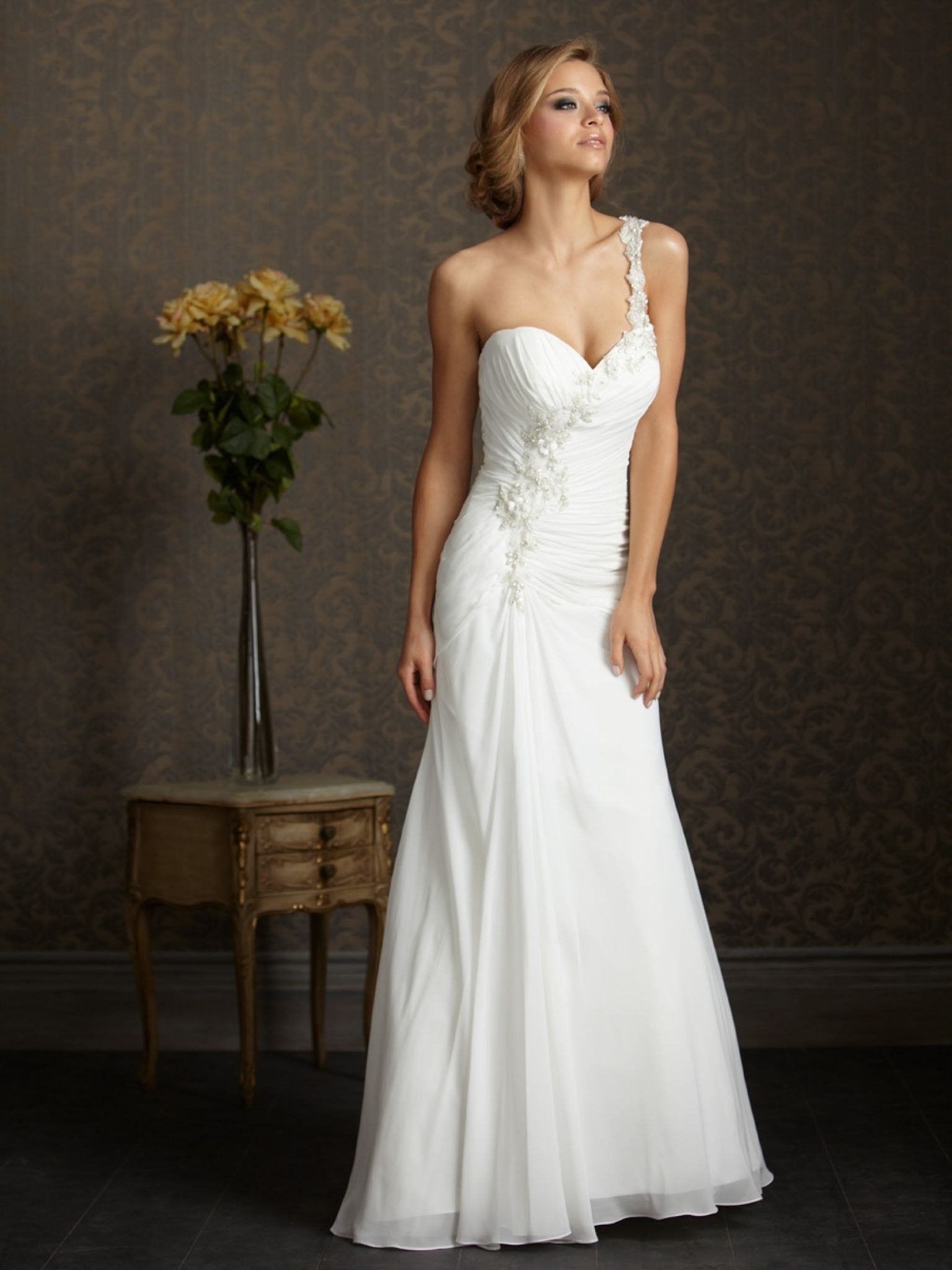 one strap wedding dresses - country dresses for weddings Check more ...