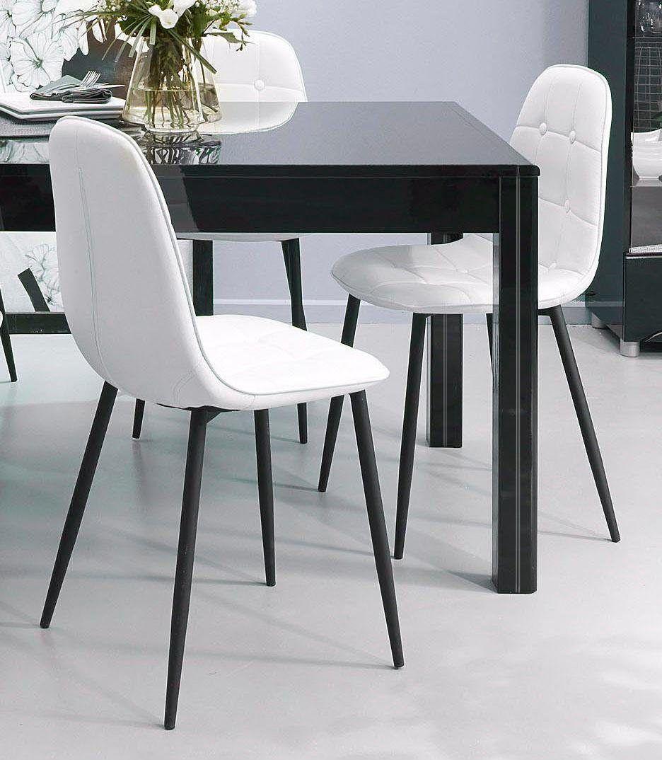 Stühle Weiß, Pflegeleichtes Kunstleder, Yourhome Jetzt Bestellen Unter:  Https://moebel.ladendirekt.de/kueche Und Esszimmer/stuehle Und Hocker/freischwinger  ...