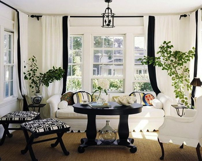 The Best Of Black And White Rooms For Your Inspiration Black And White Living Room White Rooms White Living Room