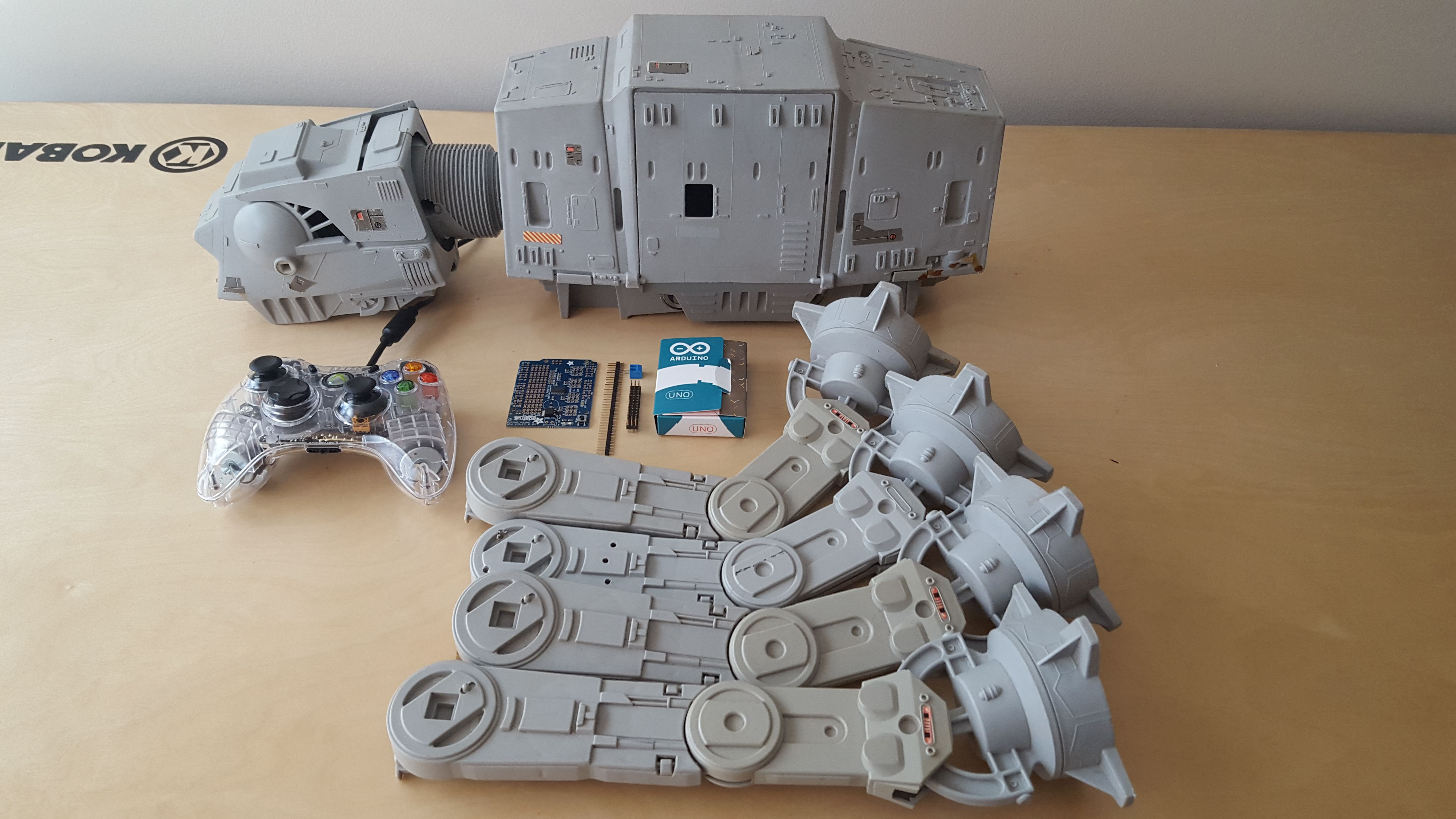 The AT-AT Project Remoted controlled AT-AT Walker (Xbox 360