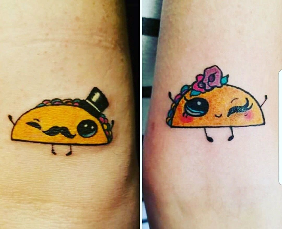 taco tattoo by traci donnelly tatuajes pinterest ideas de tatuajes tatuajes y ideas. Black Bedroom Furniture Sets. Home Design Ideas