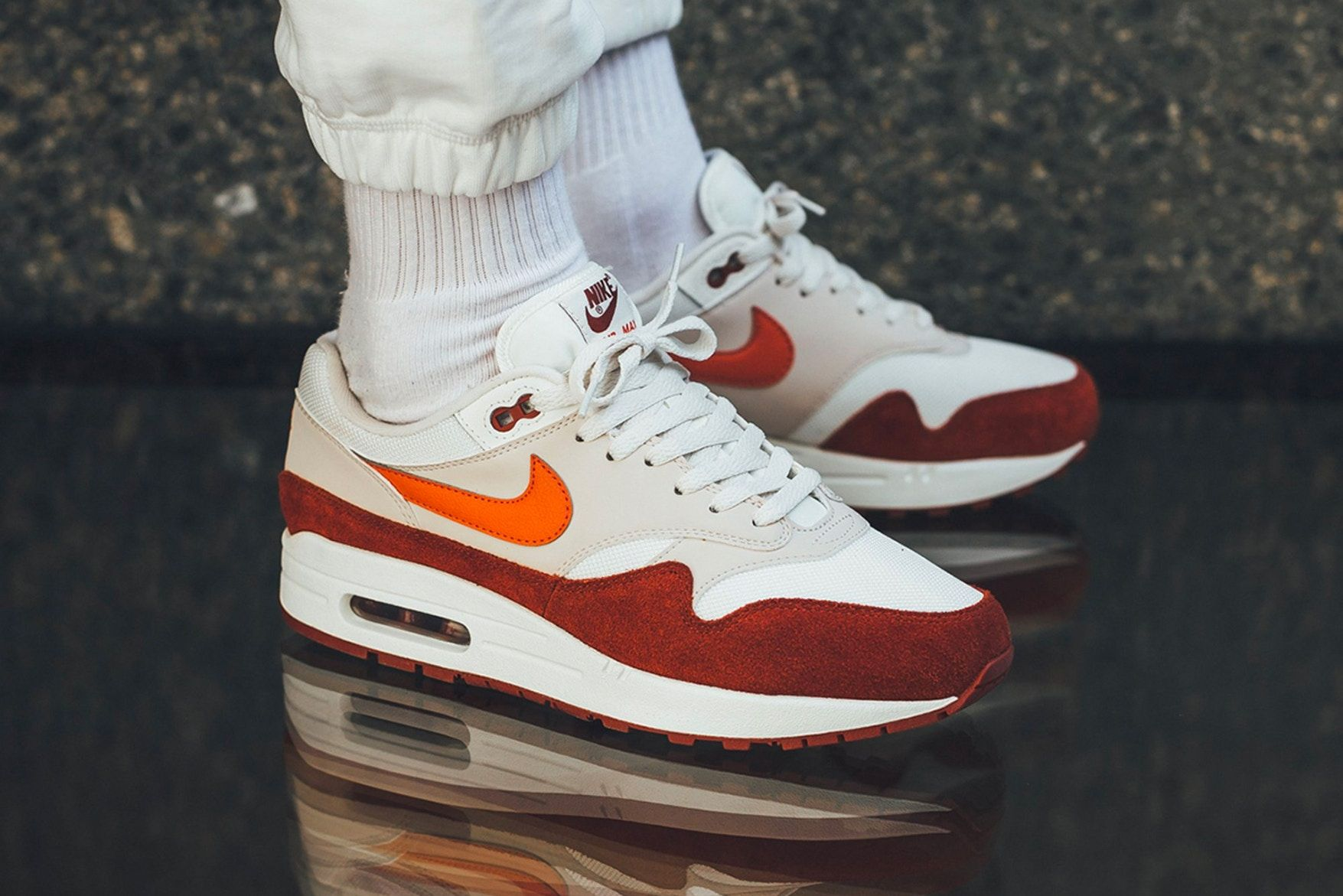 "91764c817cf7 Nike Air Max 1 - ""Sail,"" ""Vintage Coral"" & ""Mars Stone"" 
