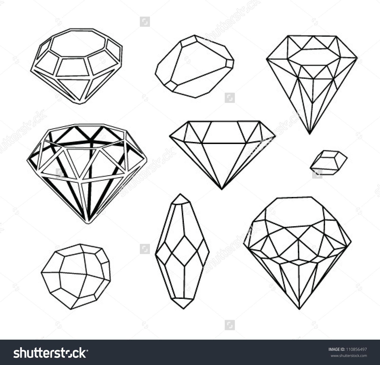 geometric diamonds