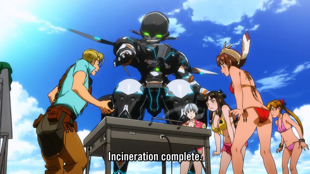 Chamber cooking food incorrectly Gargantia on the