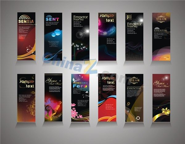 Fashion Cool Banner Template Vector Best Banner Design Banner Template Banner Design