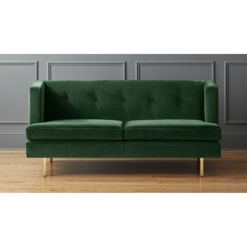 Avec Apartment Sofa With Brass Legs Apartment Sofa Retro Sofa