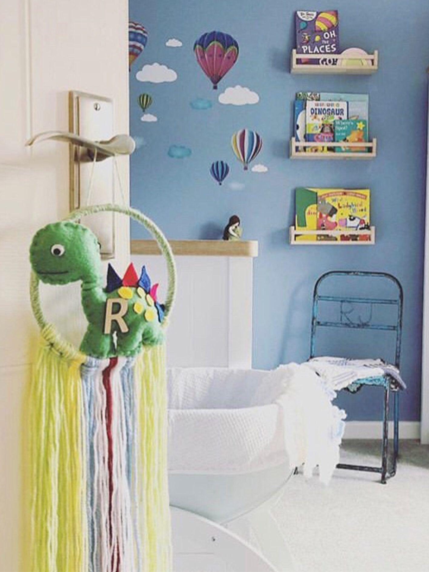 dinosaur dreamcatcher  bedroom decor  wall art  bedroom