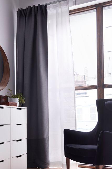 cortinas pequeñas ikea