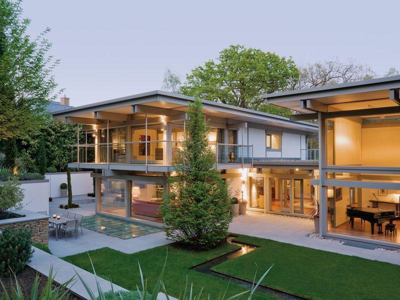 Huf Haus Köln photo huf haus housing styles huf haus and flat roof