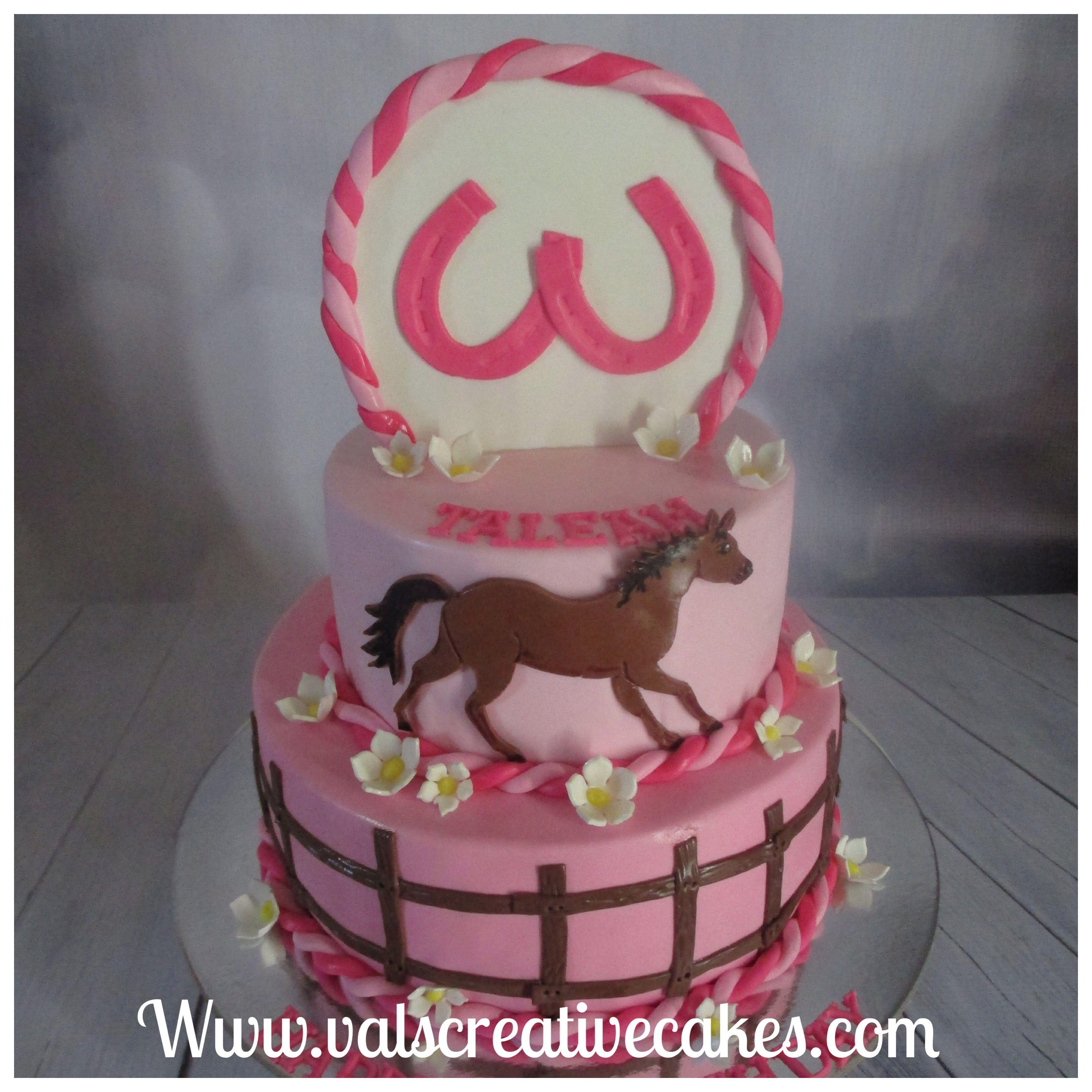 Horse Themed Birthday Cake Torty A Postavicky Pinterest