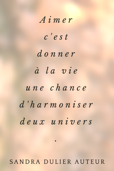 Citation Damour Sandra Dulier El Amor Es Dar A La Vida