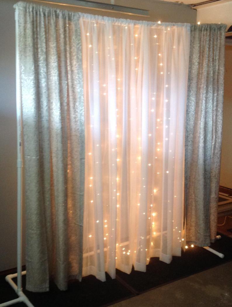 Double Pvc Arch Backdrop Frame Wedding Arch Double Pvc Arch