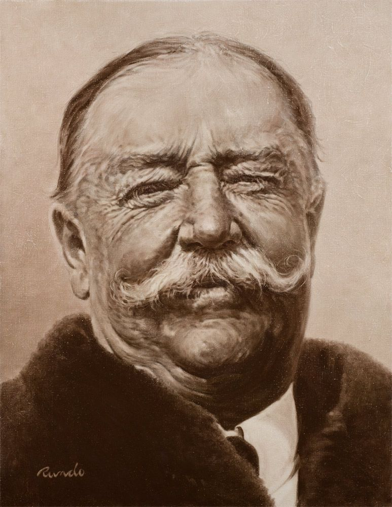 William Howard Taft Presidential Portrait
