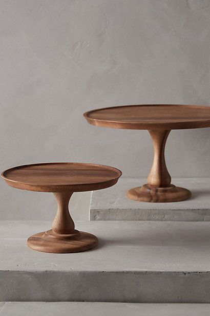 Acacia Cake Stand W I S H Pinterest Drechseln Stander And