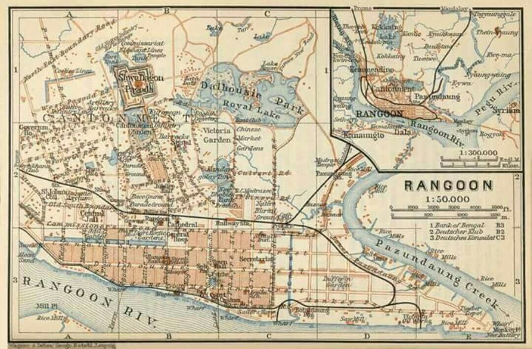 Rangoon Underground Map | Burma Days in 2019 | Yangon, Burma